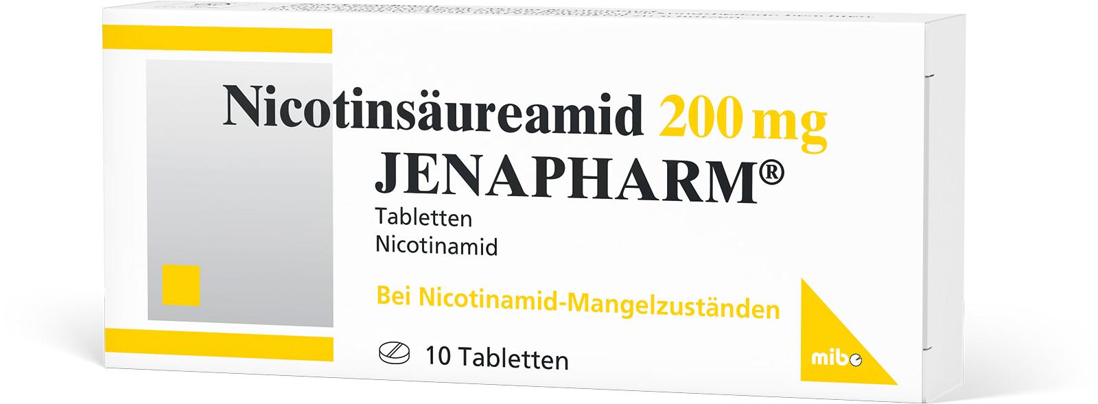 Nicotinsäureamid 200 mg JENAPHARM<sup>®</sup>