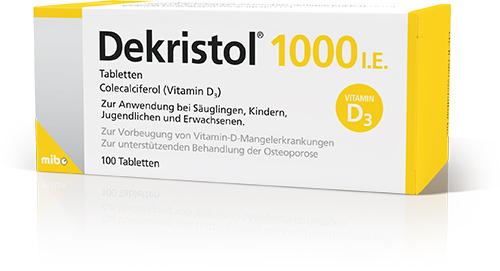 Dekristol<sup>®</sup> 1000 I.E.
