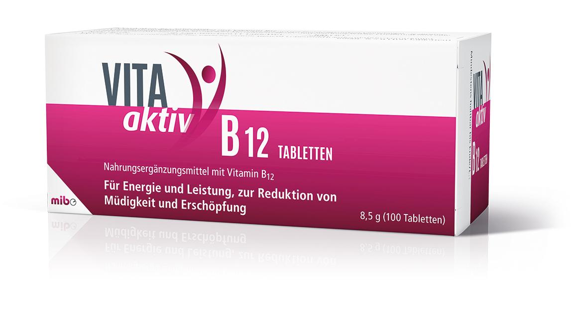 VITA aktiv B<sub>12</sub> Tabletten