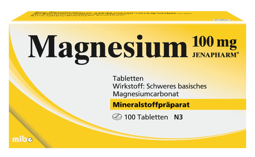 Magnesium 100 mg JENAPHARM<sup>®</sup>