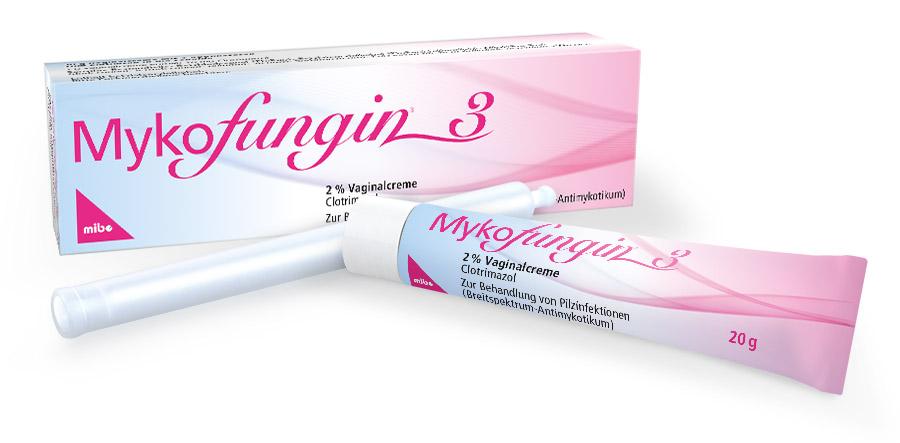 Mykofungin<sup>®</sup> 3, 2% Vaginalcreme