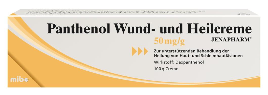 Panthenol Wund- und Heilcreme JENAPHARM<sup>®</sup>
